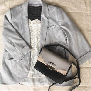 Lightly Loved ✨ Lauren Conrad Grey Blazer Size 14